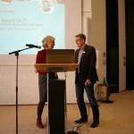 MdB Petra Crone und Christian Graf (Leiter Haus Nordhelle).