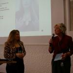 Dr. Vera Gerling, Geschäftsführerin der GER.-On Consult & Research  und MdB Petra Crone.